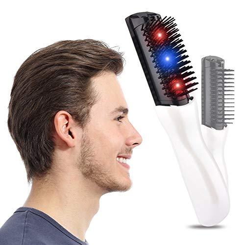 Hoofd Gezondheid Massage Elektrische Kam Therapie Om Haargroei Anti-Haarverlies Anti-Statische Mannen Gift