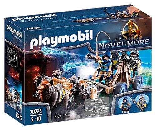 PLAYMOBIL Novelmore Equipo Lobo Novelmore, Para Niños de 5