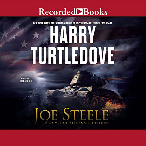 Joe Steele audiobook cover art