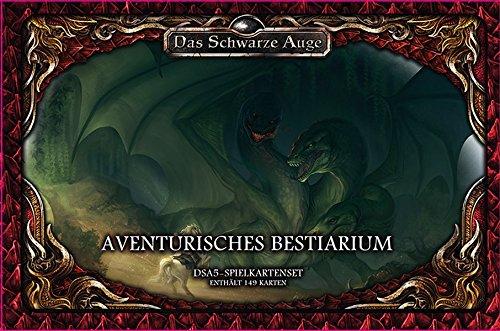 Spielkartenset Aventurisches Bestiarium Deluxe (Das Schwarze Auge - Zubehör)