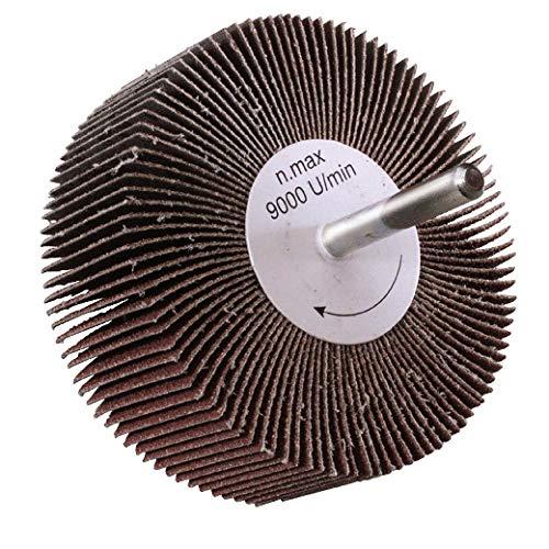 Maurer 9010690 Grain 60-Ventilateur papier de verre 80 x 30 mm