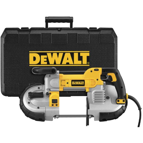 DEWALT Portable Band Saw, Deep Cut, 10 Amp, 5-Inch (DWM120K) , Yellow , Large
