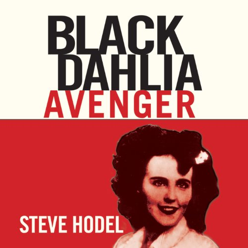 Black Dahlia Avenger audiobook cover art