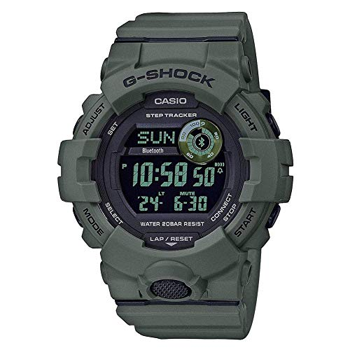 Men's Casio G-Shock Green Power Trainer Watch GBD800UC-3
