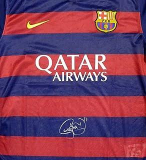 Authentic Autographed Neymar Jr. Barcelona Qatar Airways Nike Jersey Size XL ~ PSA/DNA Authentication