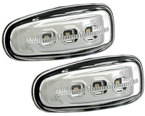 Eagle Eyes Set de Intermitentes Laterales LED en Cromo