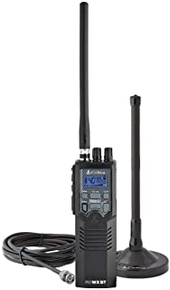 Cobra HHRT50 Road Trip Cb Radio,2-Way Handheld Cb Radio with Rooftop Magnet Mount Antenna, NOAA Channels, Dual Watch, 40 C...