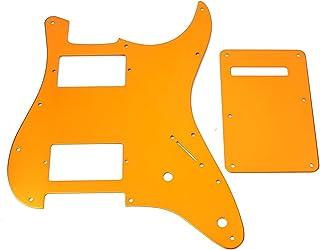 Juegos de Música Fender Strat Anodizado 11 Holse Hh Pickguard Protección Instrumentos Musicales para Guitarra