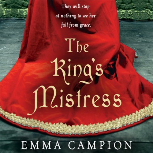 The King's Mistress audiobook cover art