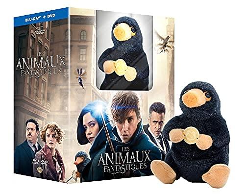 Animales fantásticos y dónde encontrarlos / Fantastic Beasts and Where to Find Them - Includes Fluffy Niffler Figurine (Blu-Ray & DVD Combo) [ Origen Francés, Ningun Idioma Espanol ] (Blu-