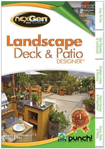 Landscape, Deck and Patio Designer with NexGen v2