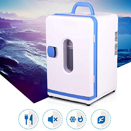 Anjin Mini-koelkast, 12 V, 15 liter, 220 V-240 V, draagbare thermo-elektrische koelbox/verwarmingsbox voor thuis, camping