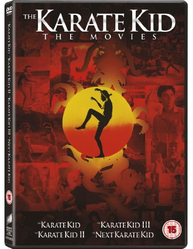 Karate Kid III, the / Karate Kid, the (1984) / Karate Kid: Part II, the / Next Karate Kid, the - Set [4 DVDs] [UK Import]