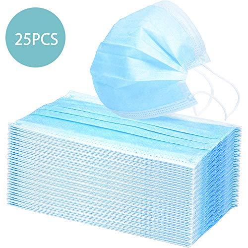 快適なマスク使い捨て個人保護マスク防塵抗菌保護マスクフィルター 25枚入