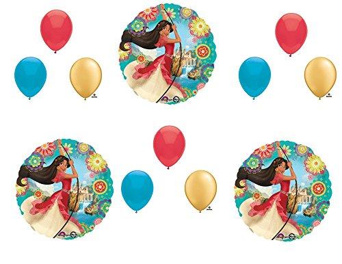 Disney Princess ELENA OF AVALOR Birthday Party Tableware Supplies Decorations