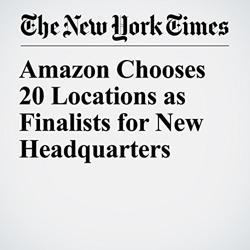 Amazon Chooses 20 Locations as Finalists for New Headquarters copertina