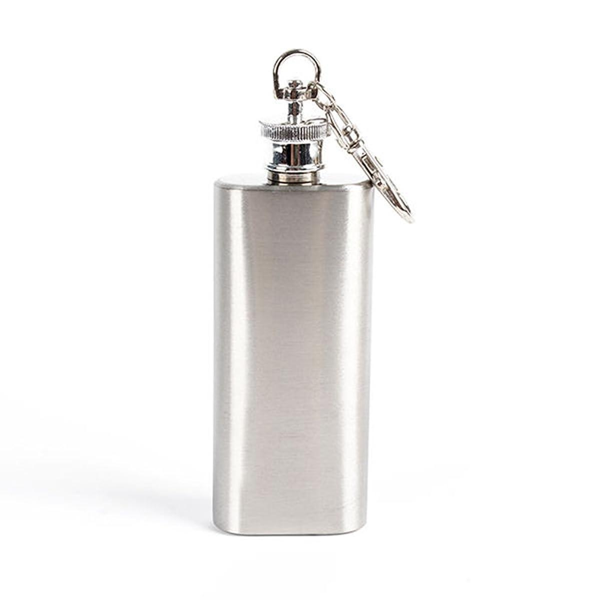 bjduck99 2oz Mini Wine Bottle Stainless Steel Liquor Hip Flask with Screw Cap Portable