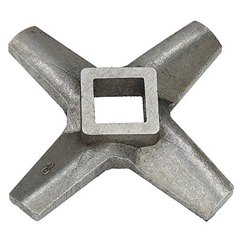 ✧WESSPER® Federmesser/Messereinsatz/Messer/Ersatzmesser für Fleischwolf Zelmer Diana typ 886.8