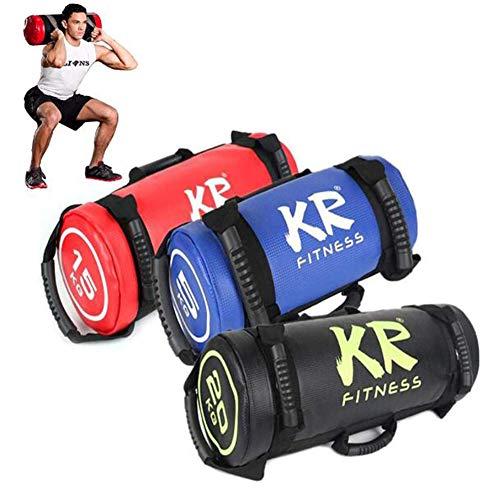 Bolsa de Arena Power Bag Fitness Workout Boxing Home Gym Bolsa para Levantamiento de Pesas, Correr, Hacer Ejercicio, Levantamiento de Pesas Y Entrenamiento Funcional (Color Aleatorio),25kg