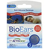 BioEars Soft Silicone Earplugs 3 Pairs (Pack of 10)