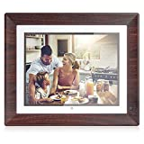 BSIMB 16GB Digital Picture Frame WiFi Digital Photo Frame 1067x800 Remote Control Auto-Rotate Motion Sensor Send Photos/Videos from iOS & Android App/Twitter/Facebook/Email W09(9 Inch)
