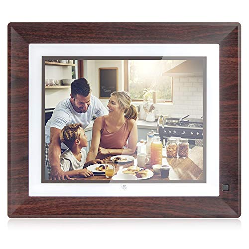 BSIMB 9 Inch 16GB Digital Picture Frame WiFi Digital Photo Frame 1067x800 Remote Control Auto-Rotate Motion Sensor Send Photos/Videos from iOS & Android App/Twitter/Facebook/Email W09