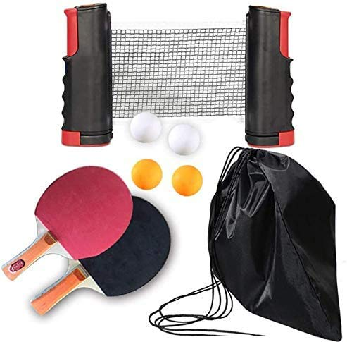 Why Choose Happife Professional Ping Pong Paddle Set - Premium Rackets, Retractable Net, Balls, Stor...