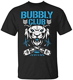 Bubbly Club Chris Jericho AEW Champ Wrestling Classic T-Shirt - Ladies T-Shirt - Crewneck Sweatshirt- Hoodie - Long Sleeve - Tank, Perfect gift for your loved one