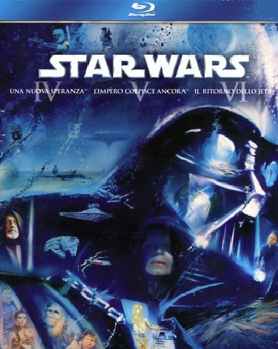 Star Wars - Trilogia 3 Blu-ray [Italia] [Blu-ray]