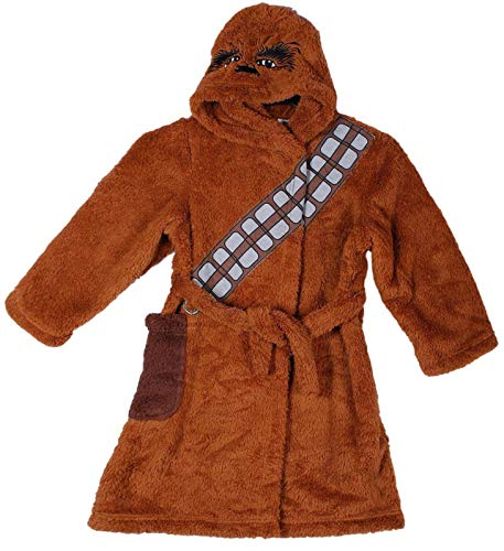 Jungen Bademantel Star Wars Chewbacca Gr. 146, braun