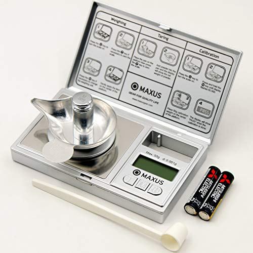 Milligram Scale with Metal Tray 50g x 0.001g