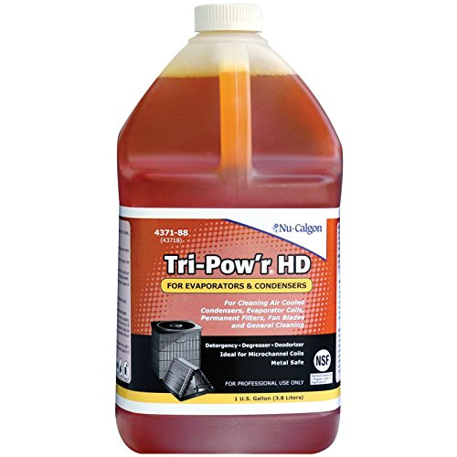 Nu-Calgon Tri-Pow'r HD 4371-88 Cleaner for condensers, evaporator coils, permanent filters, fan blades, motors