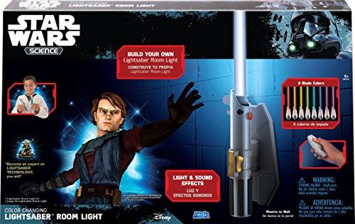 Star Wars Uncle Milton– Science–Multicolor Lichtschwert Raumlicht