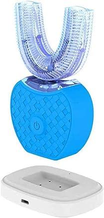U型電動歯ブラシ 360°オールラウンドクリーニングホワイトニングマウスクリーナー充電式Blau