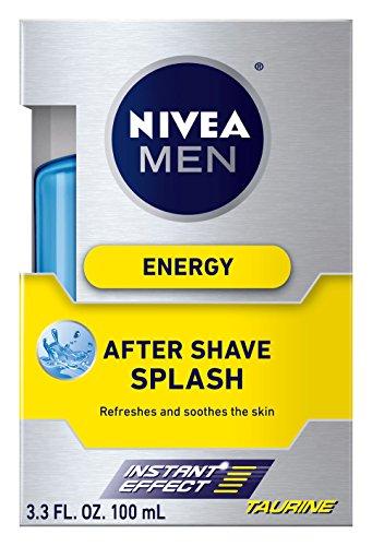 Price comparison product image NIVEA Men Energy After Shave Splash,  3.3 Ounce (Pack of 3)