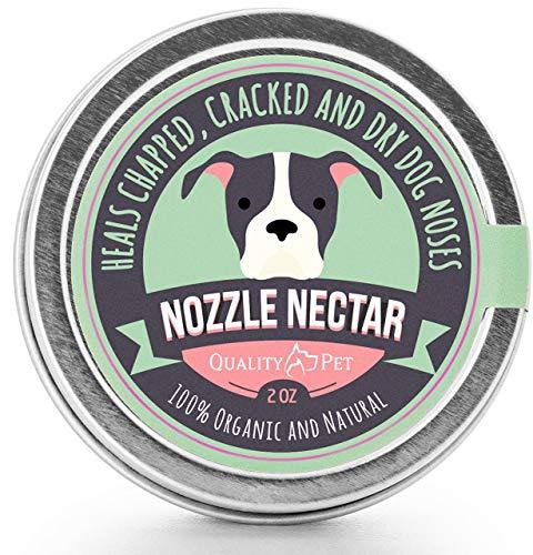 Nozzle Nectar Balsamo emolliente Naso per Cani - Biologico e Naturale al 100% - Guarisce e rigenera...