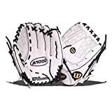 Wilson A1000 12.5' Fastpitch Softball Glove (Wbw100182125) Victory White.