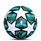 LDLXDR Ballons Match Football- Ballon d'entraînement Toutes Les Tailles 5 4 Match Officiel Adultes Junior Enfants Football Futsal,NO-4,5