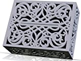Doorbell Chime Cover Box Corinthian Style Inside Doorbell Chime Covering Only (Grey)