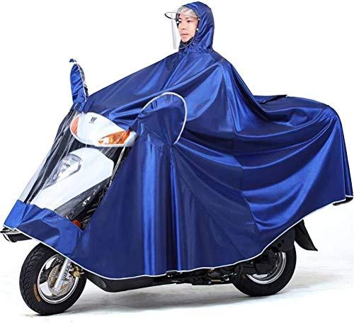 GUYUE Bicicleta eléctrica del Impermeable, Oxford Tela Impermeable Portable del Casquillo del...