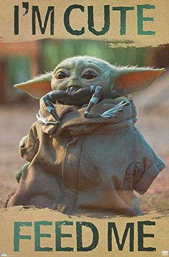 Diuangfoong - POSTER BEBY YODA - FEED ME - TV 18595