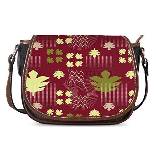 Lady Bags, Mujeres Messenger Bolsos Damas Bolsa de Hombro Moda Moda Creatividad Bolsa Femenina Silla CASAL Bolso Crossbody,Rojo