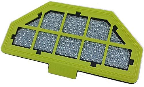 Moneual 8809141316665 Mehrschicht HEPA-Filter für Saugroboter [Energieklasse A], grün