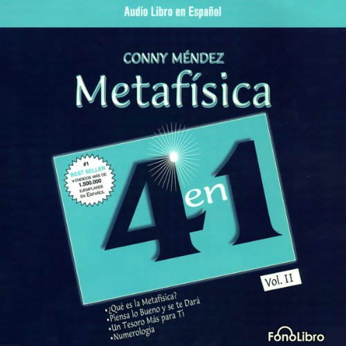 Metafisica 4 en 1 audiobook cover art