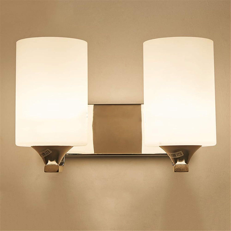 Lampe 5W   9W Led Wandleuchte Warmes Licht Moderne Einfache Nachttischleuchte Creative Continental Hotel Wandleuchte, Doppelkopf, 9W