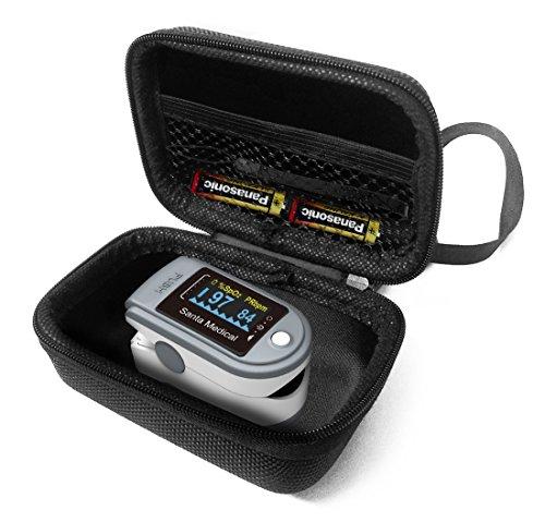 FitSand Hard Case Compatible for Santamedical Generation 2 SM-165 Fingertip Pulse Oximeter