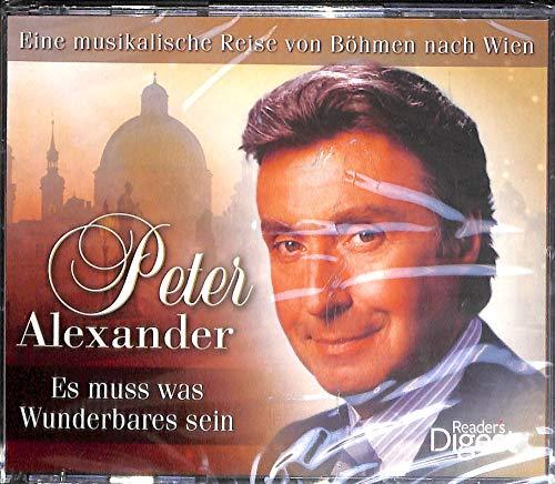 4-CD-Box Peter Alexander: ES MUSS WAS WUNDERBARES SEIN - Eine musikalische Reise von Böhmen nach Wien