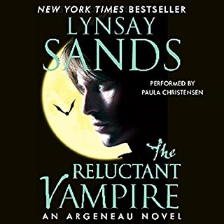 The Reluctant Vampire     Argeneau Vampires, Book 15              Written by:                                                                                                                                 Lynsay Sands                               Narrated by:                                                                                                                                 Paula Christensen                      Length: 9 hrs and 49 mins     1 rating     Overall 5.0