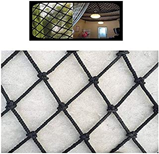 Protective net decoration/Black Children Protection Net Rail Balcony Stair Safe Net Kids Pet Cat Protection Net Cargo Rope...