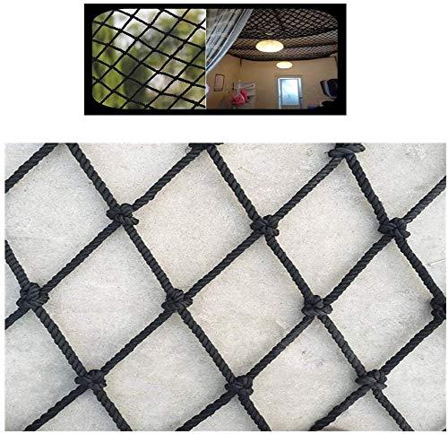 Protective Net decoratie/zwarte bescherming van de minderjarigen netto balkonleuningen van de trap veiligheidsnet kinderbescherming kattennet ladder veiligheidslijn